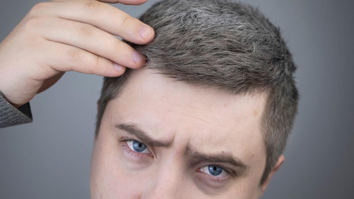 白髪は目立つ所に生える?